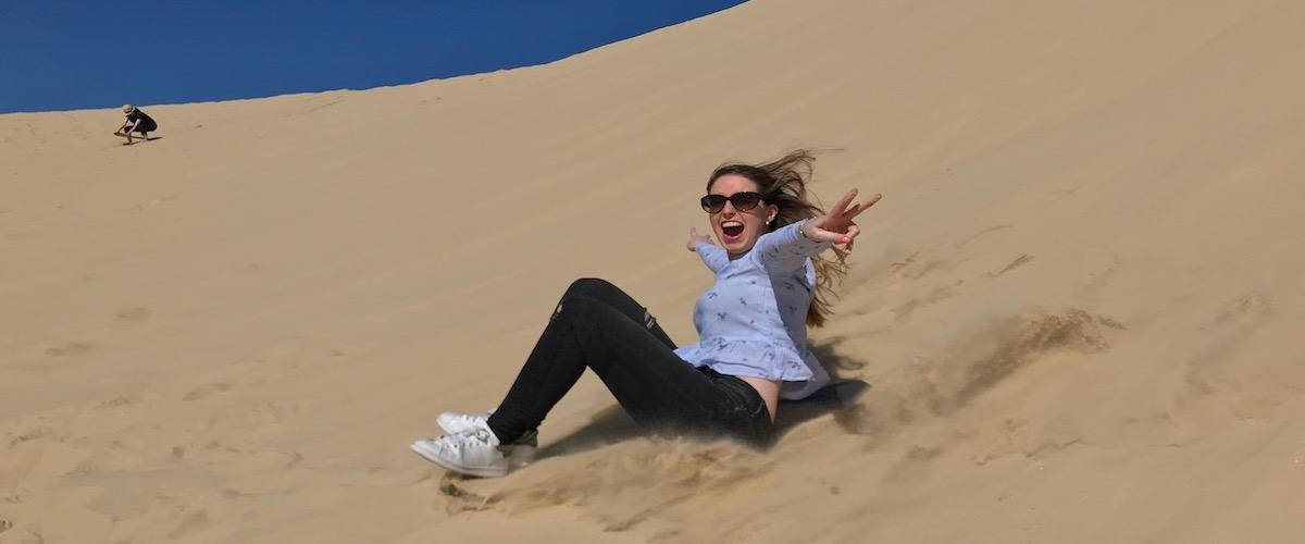 PJ Tours Sand Boarding